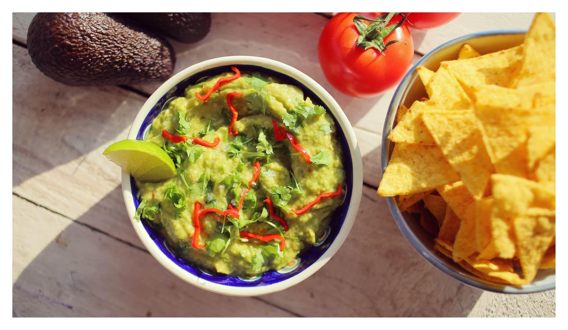 házi guacamole