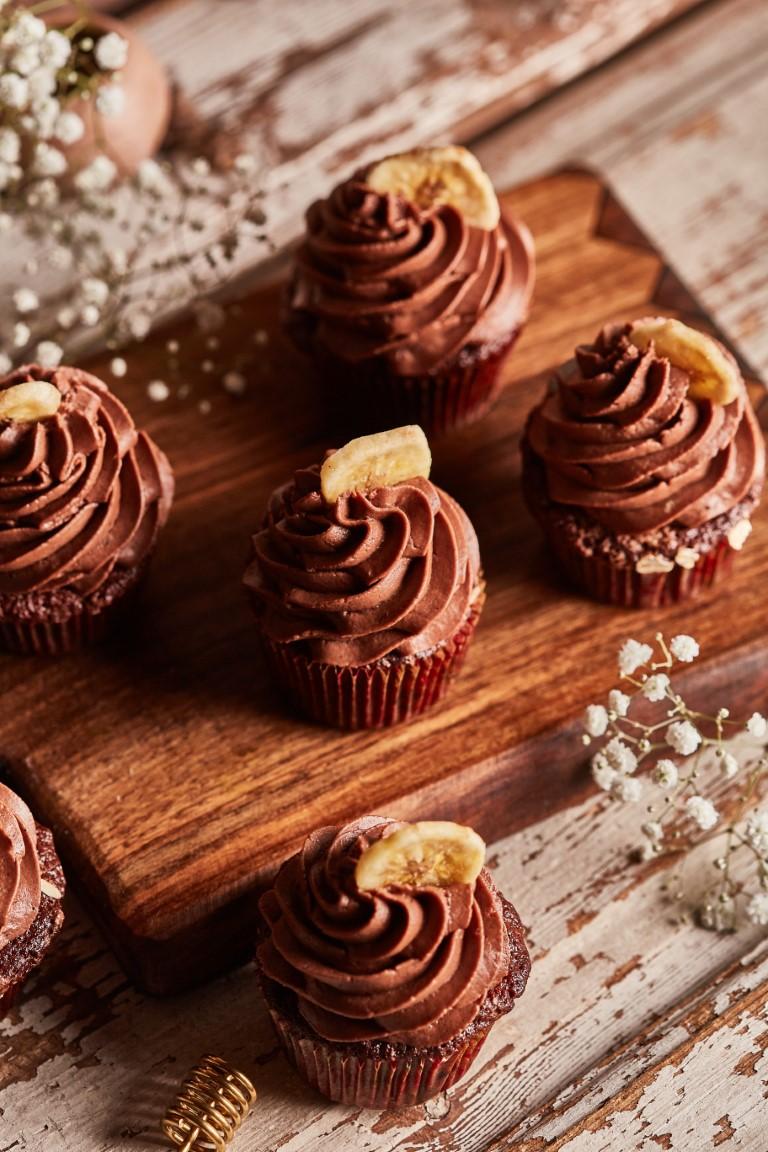 banános joghurtos muffin süti