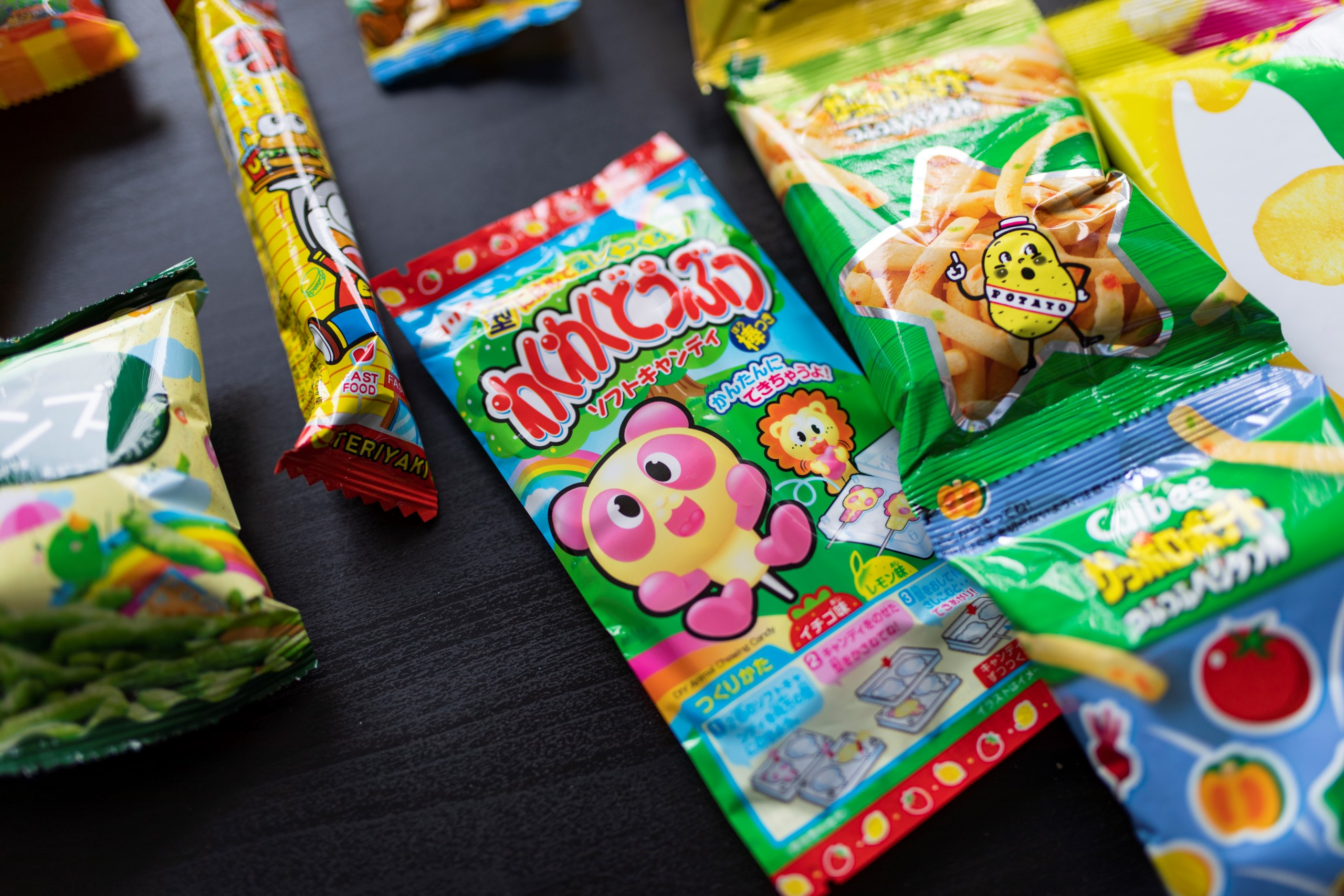 japán snack