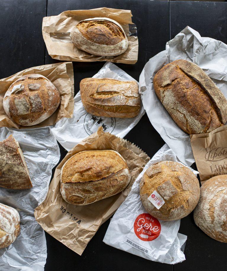 SK kenyérteszt