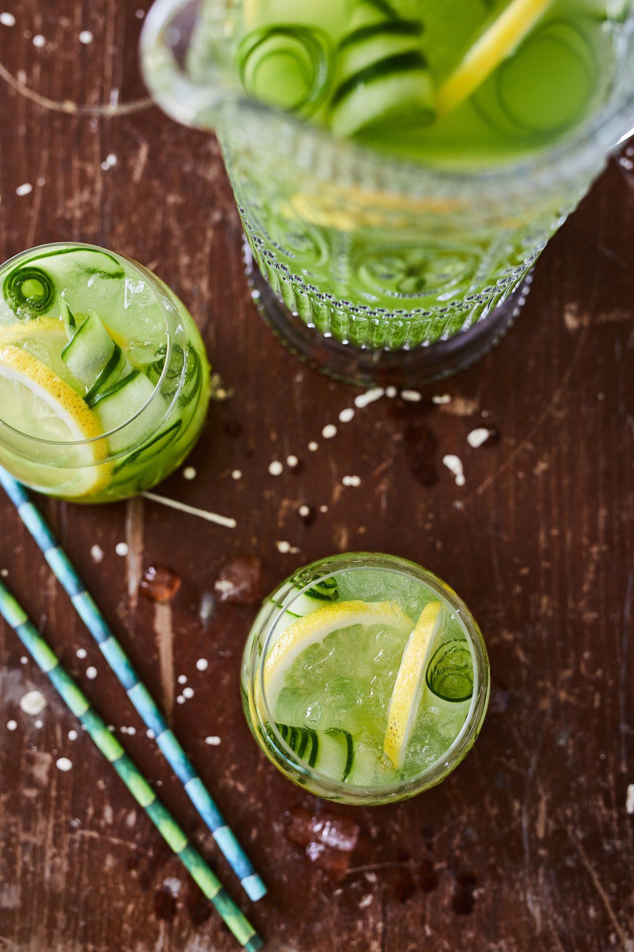 Uborkás-proseccós limonádé
