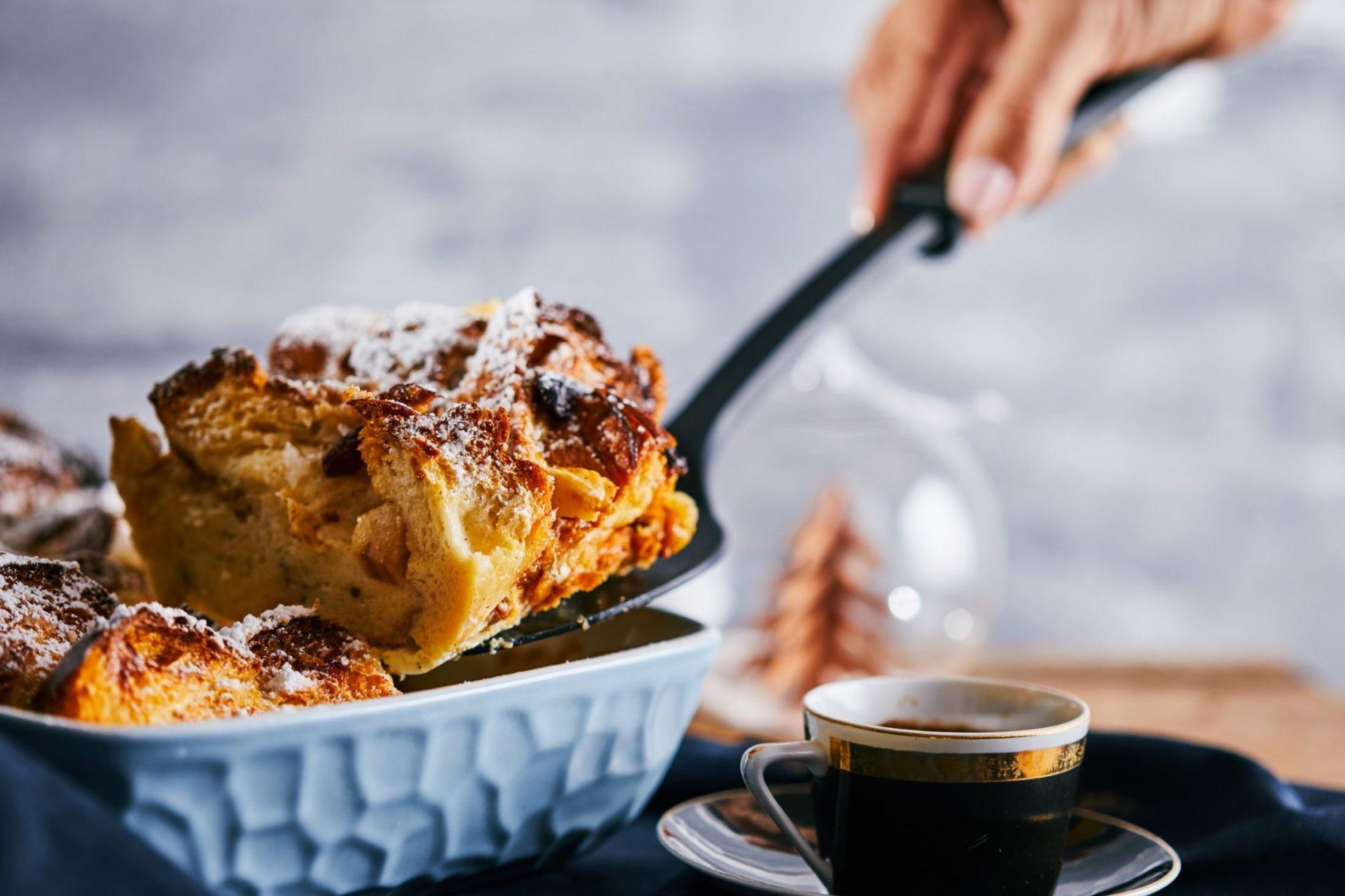 almás-vaníliás kalácspuding