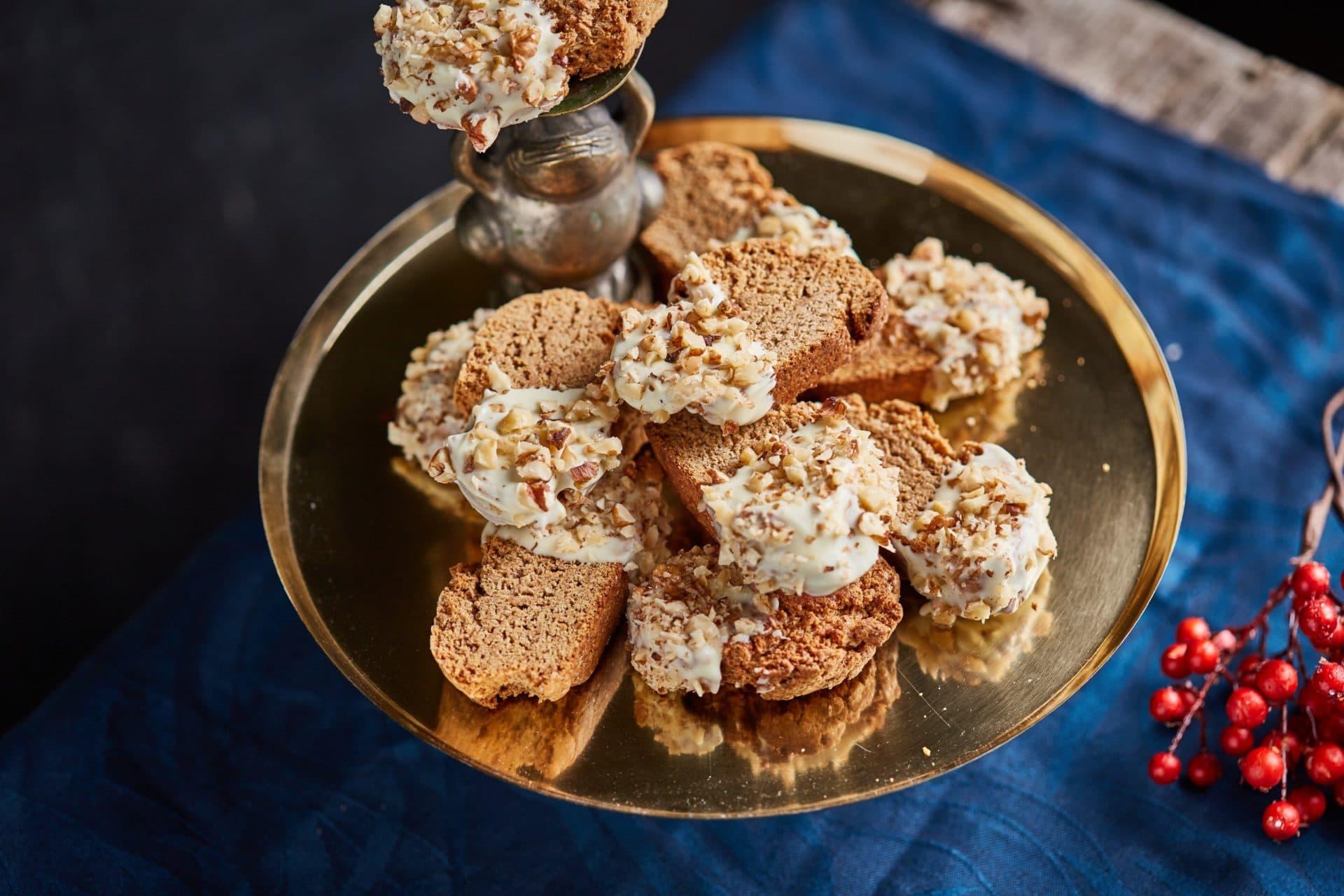 mézeskalácsos biscotti
