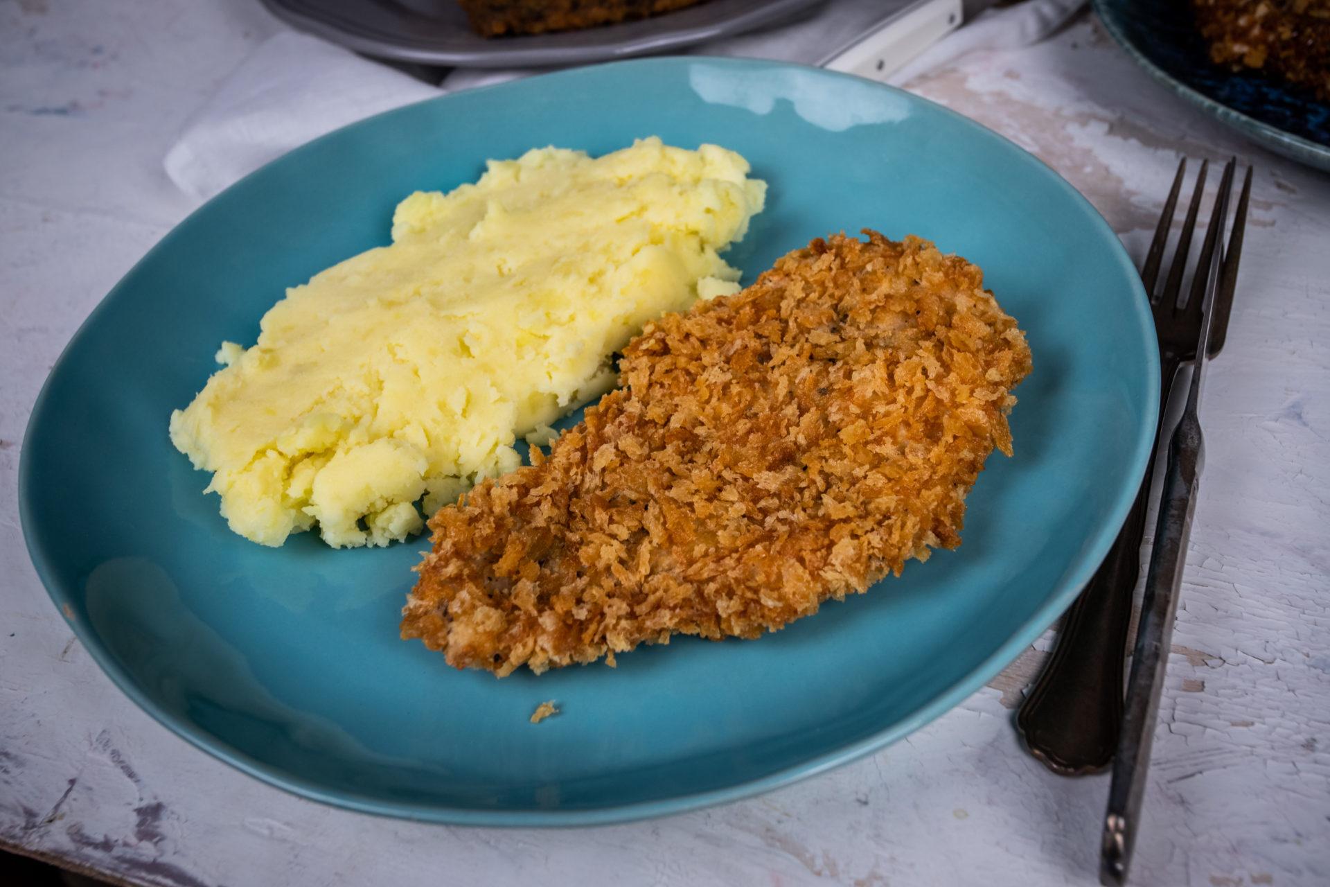 rántott hús krumplipüré