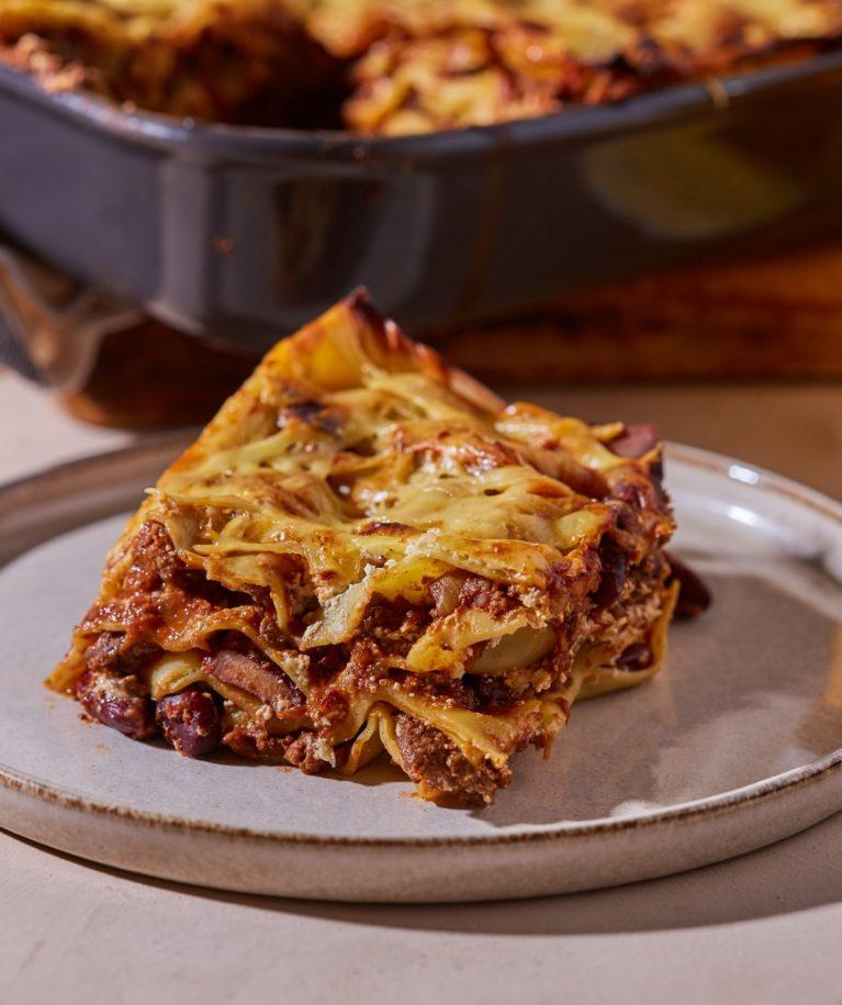 chili con carne lasagne