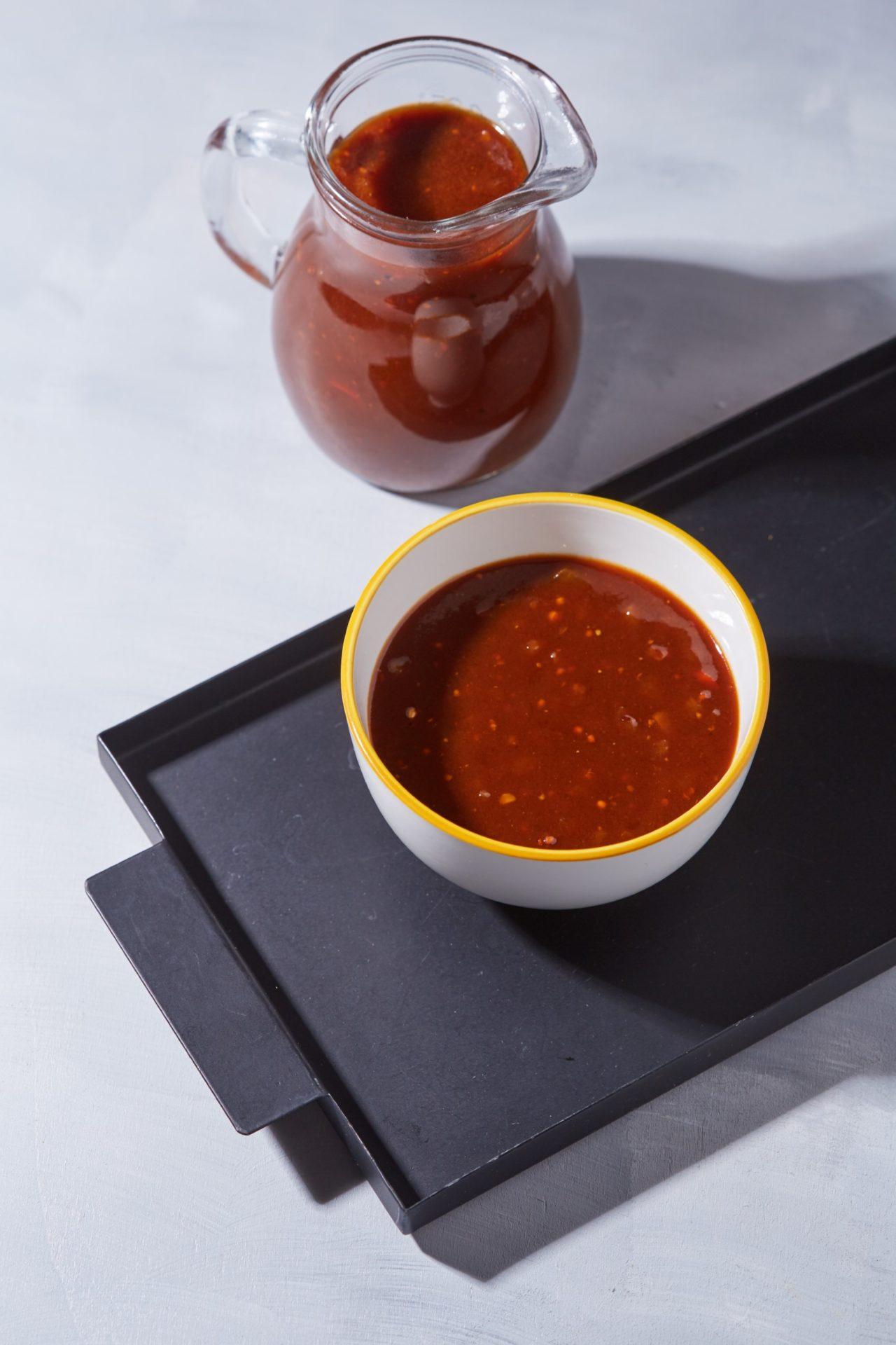 Chilis-kávés bbq szósz