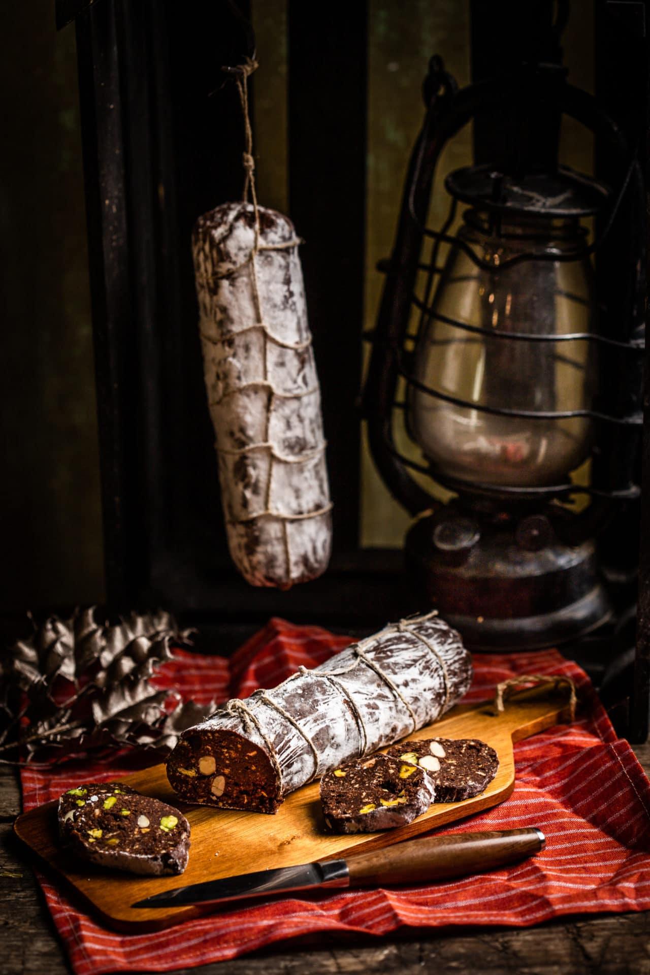 A klasszikus csokiszalámi
