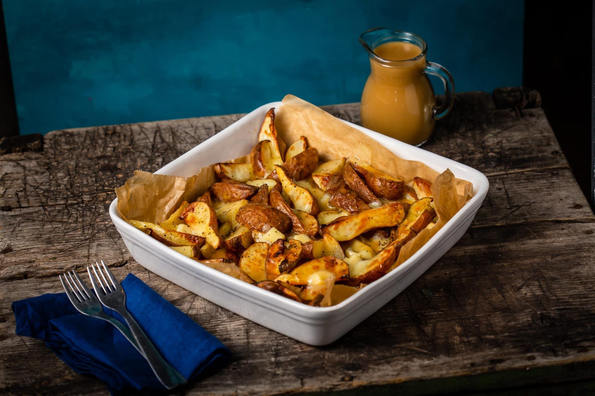 poutine kanadai sültkrumpli