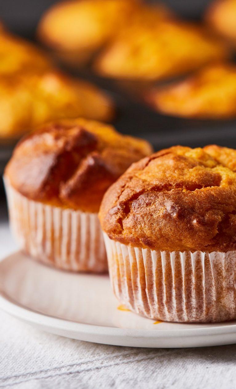 Édesburgonya muffin