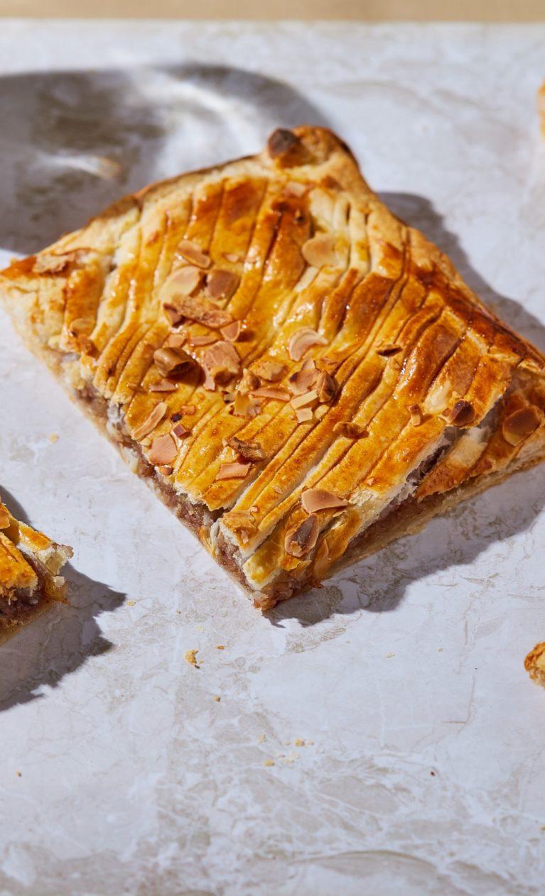 Almás leveles tésztás pite