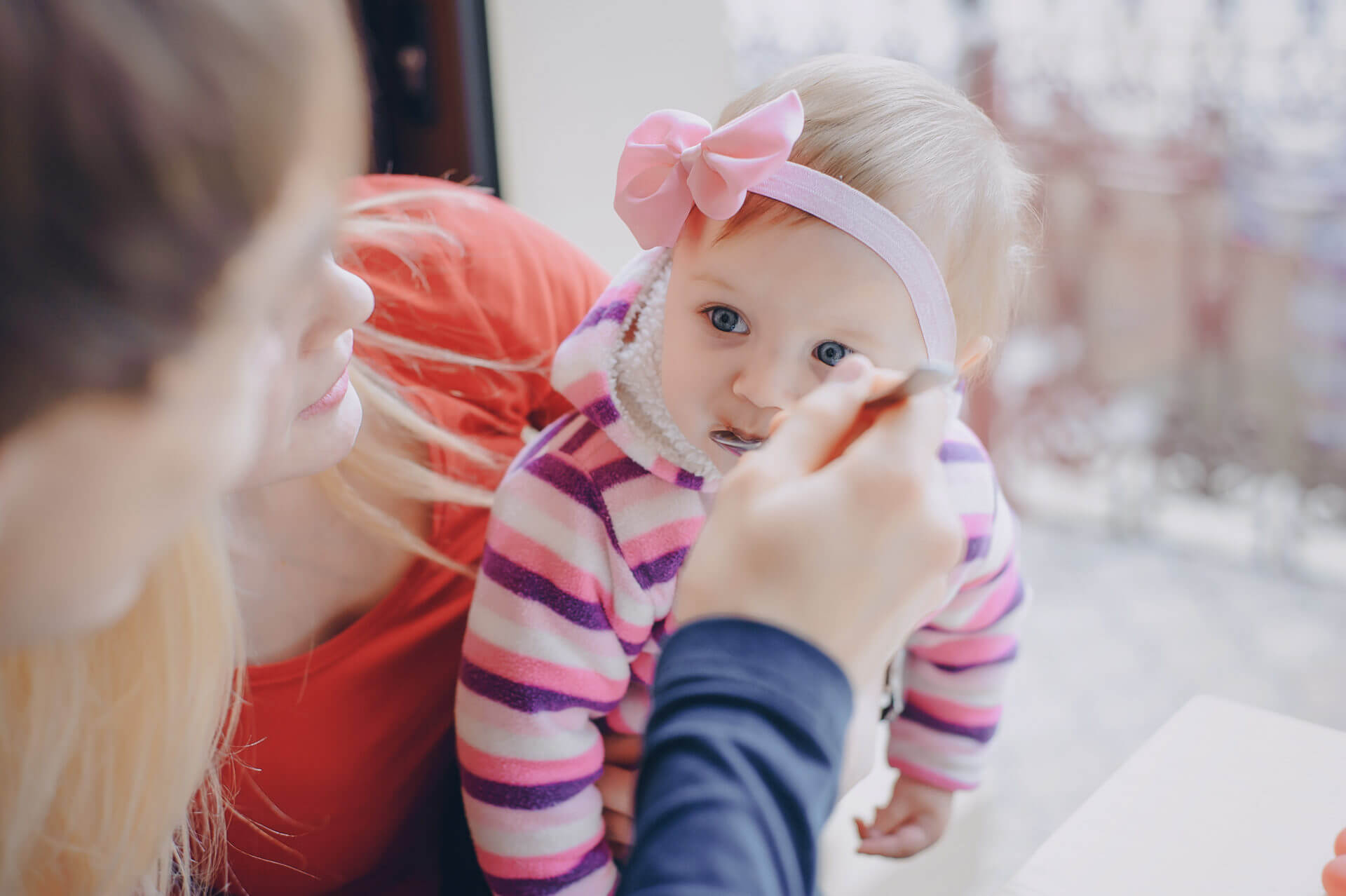 Családi étkezések a babánál