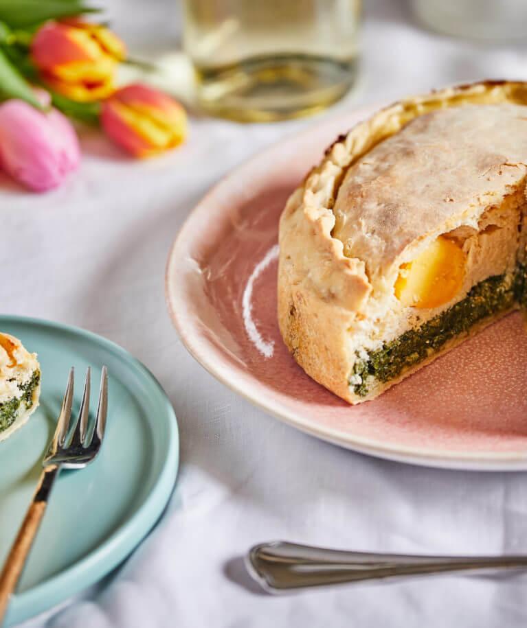 húsvéti pite tojással