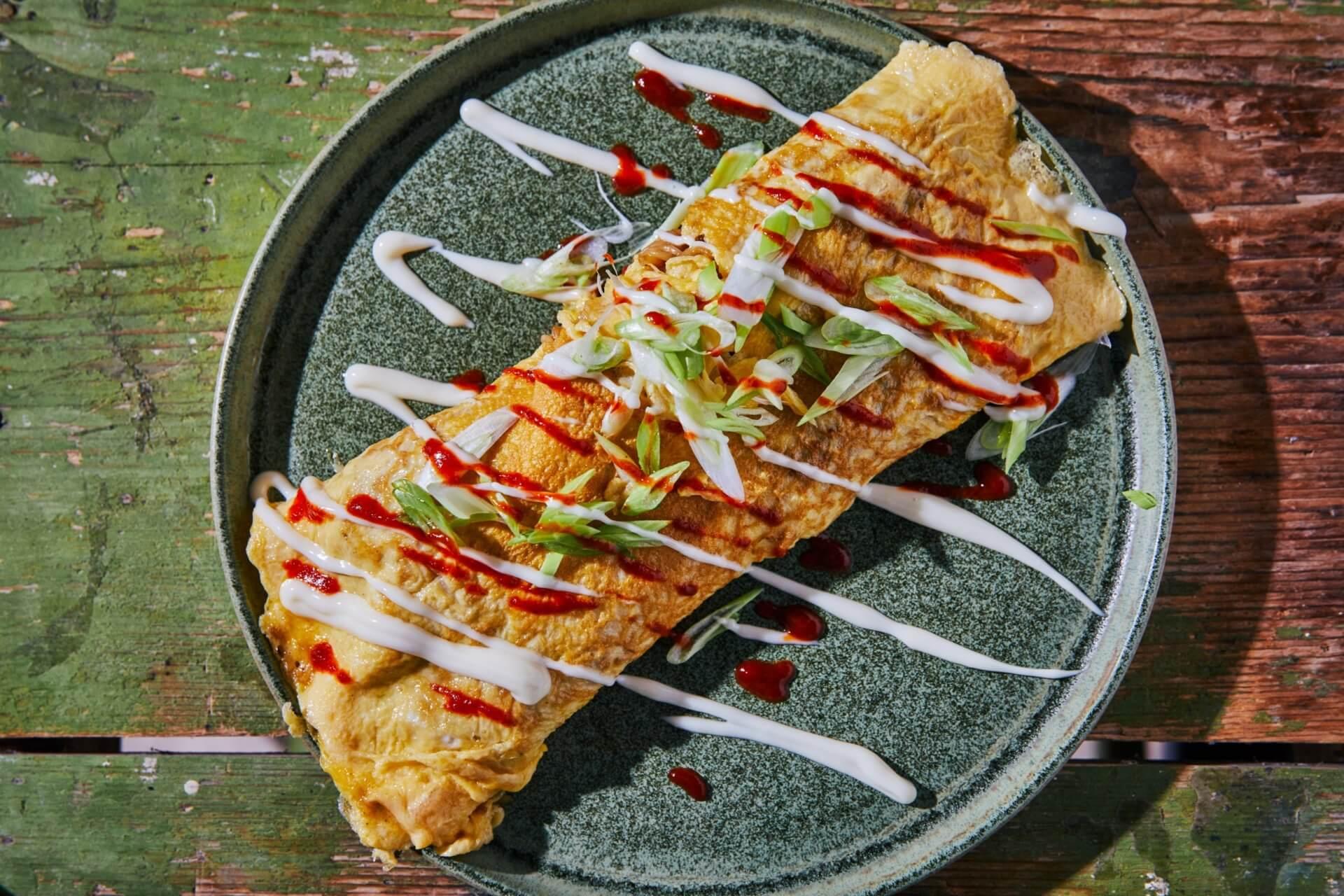 Ázsiai instant leveses omlett