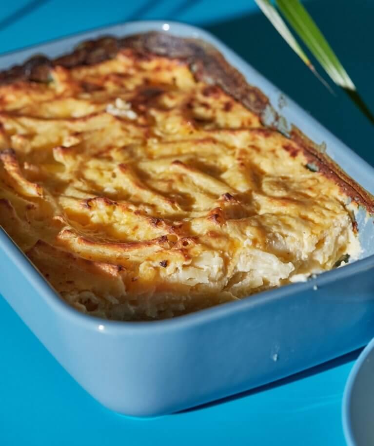 Zöldséges mac 'n' cheese