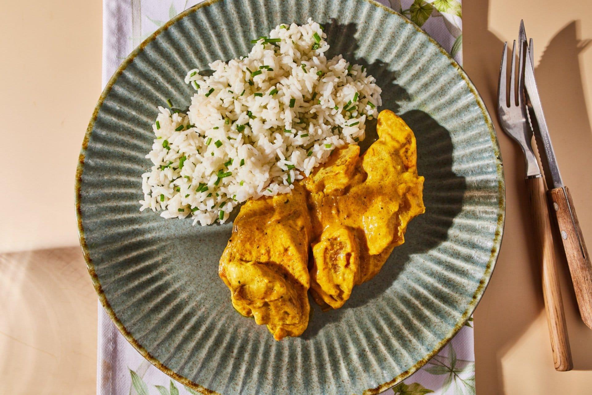 Currys-ananászos-tejszínes csirke