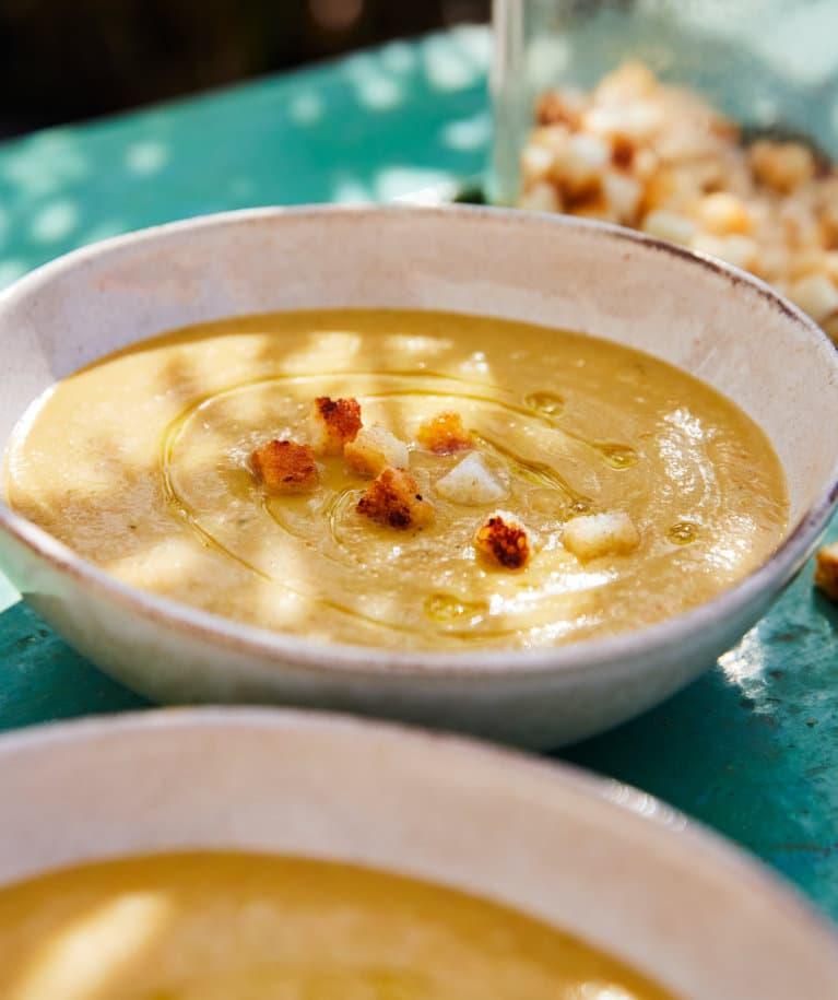 Currys zöldségkrémleves
