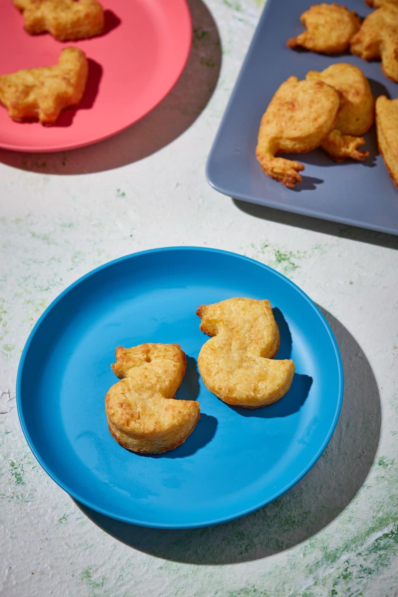 Extra sajtos-ricottás babapogácsa