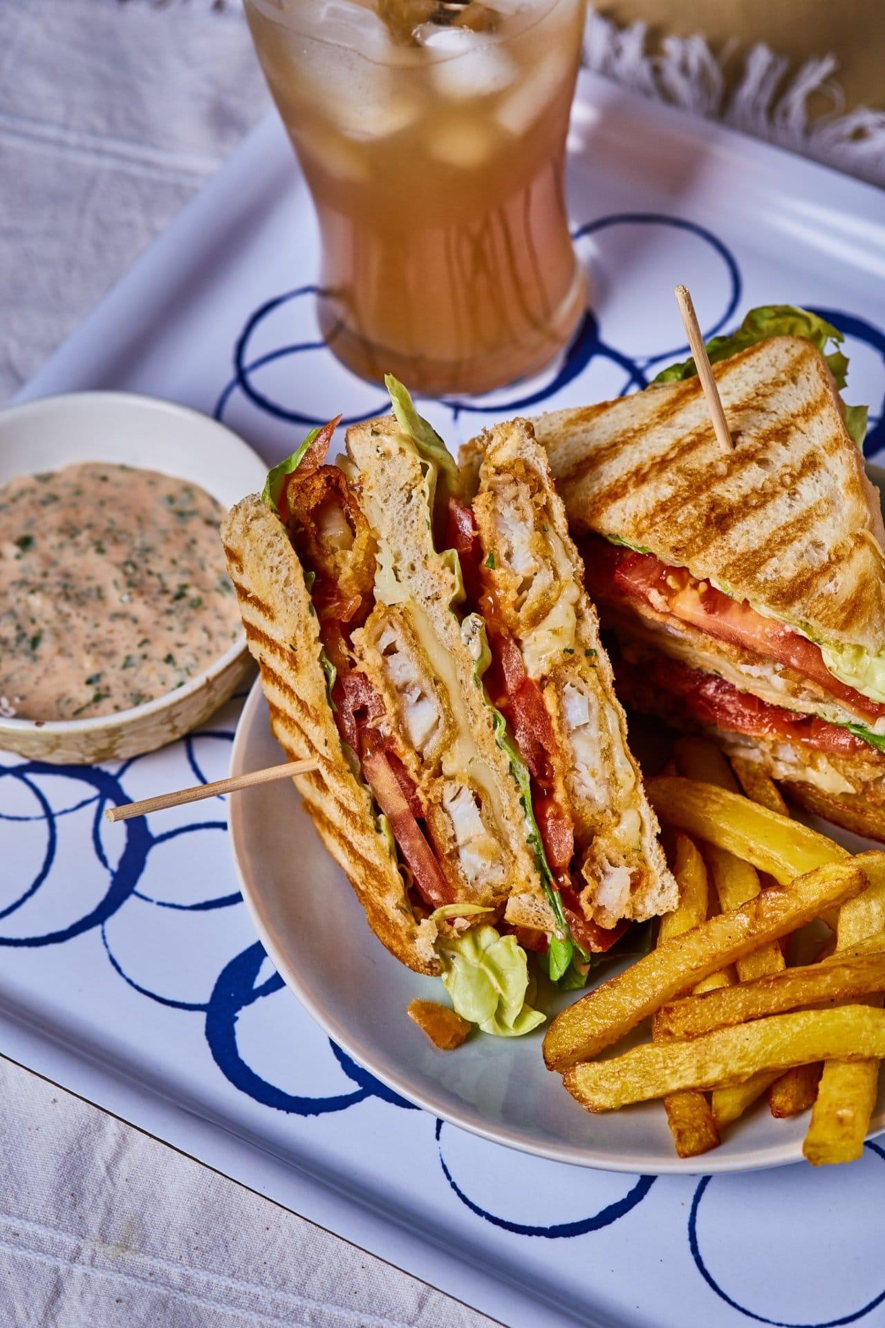 halrudacskás szendvics