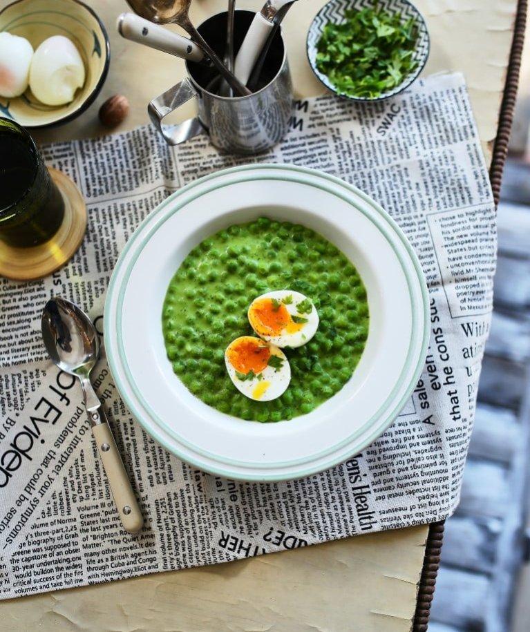 zöldborsós receptek