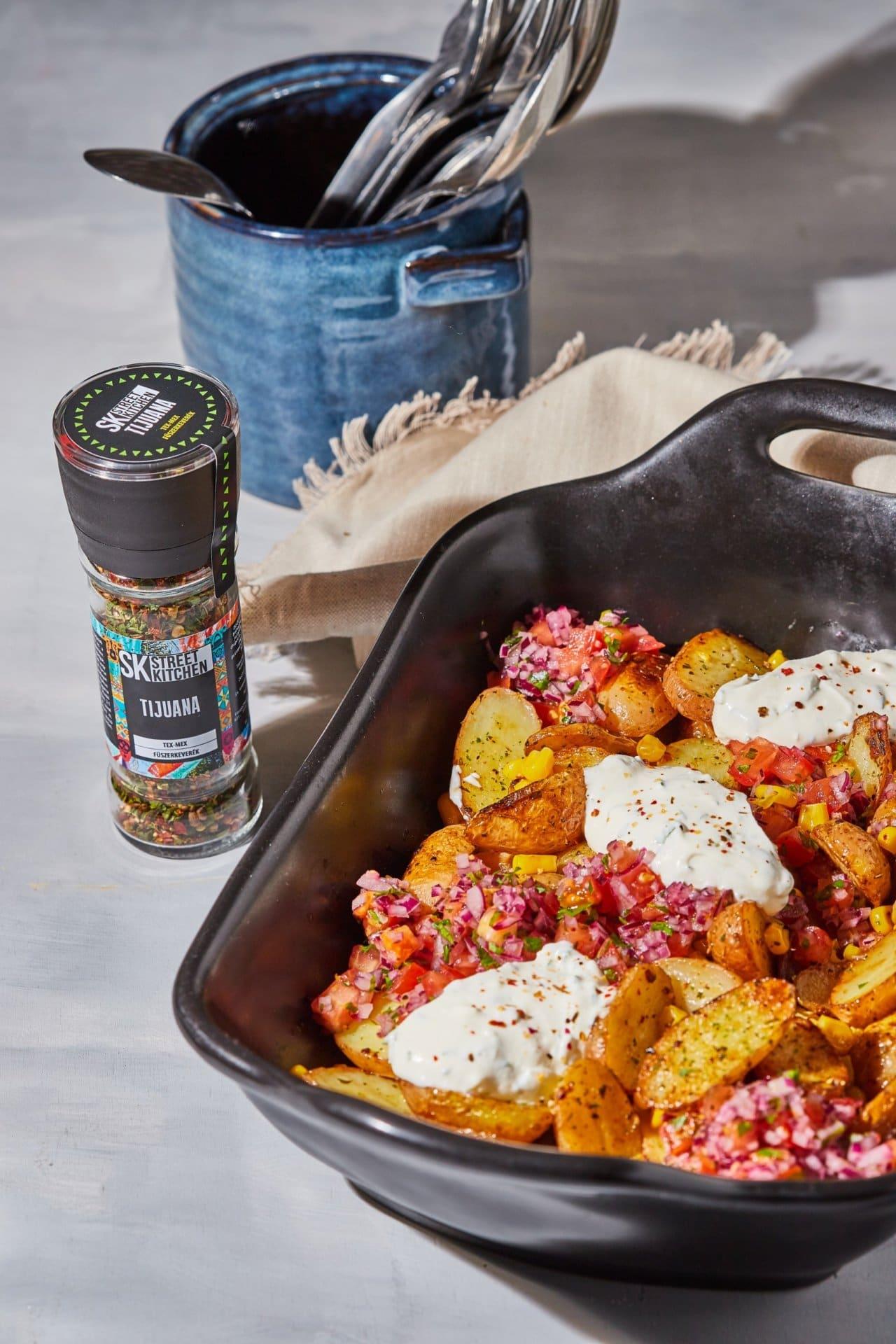 mexikói krumplisaláta