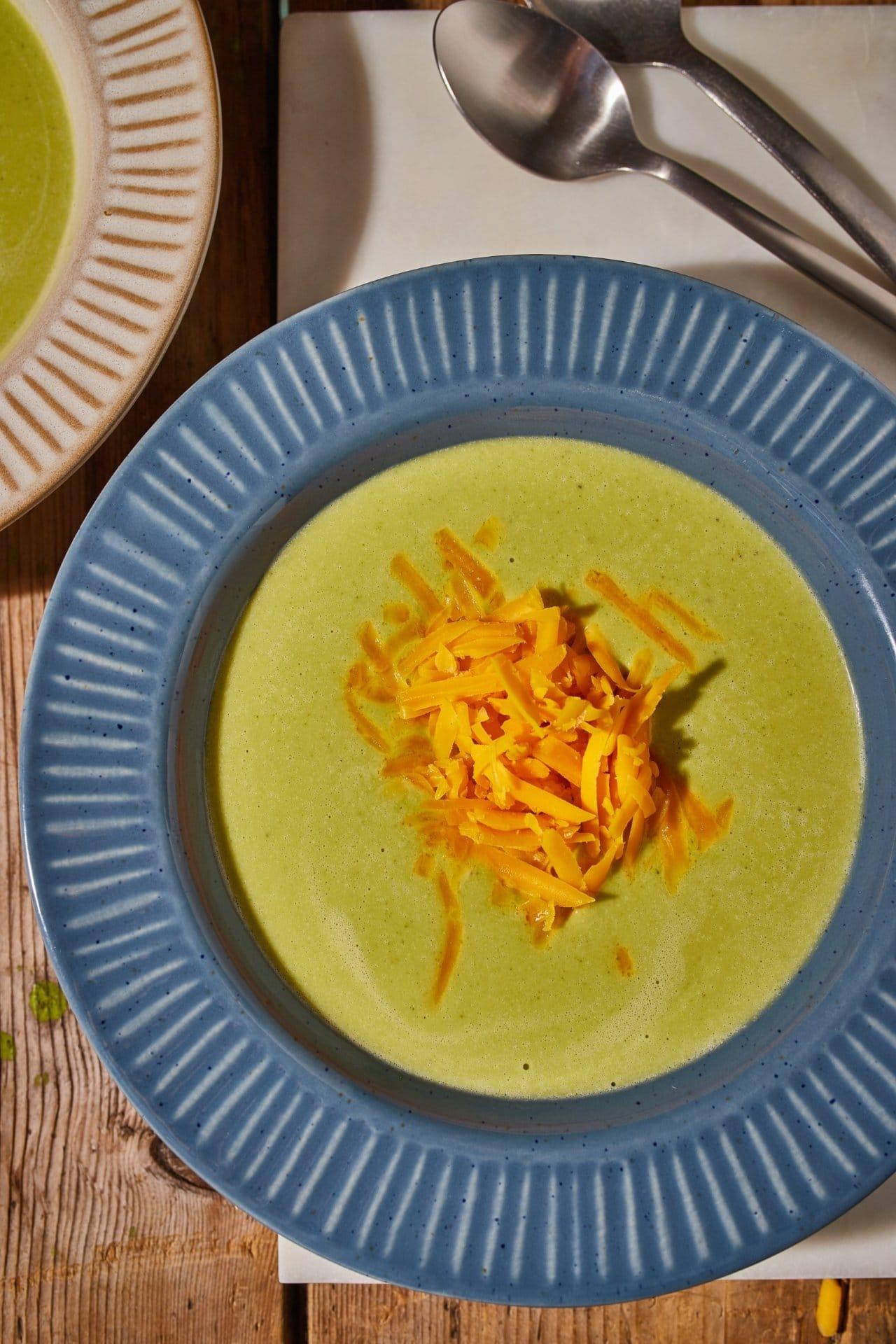 brokkolis sajtkrémleves