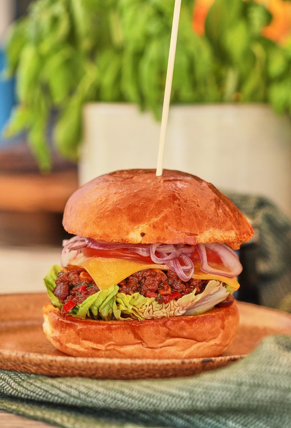 chilis babos hamburger