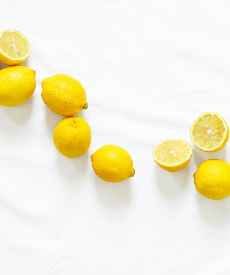 bőrápolás citrom