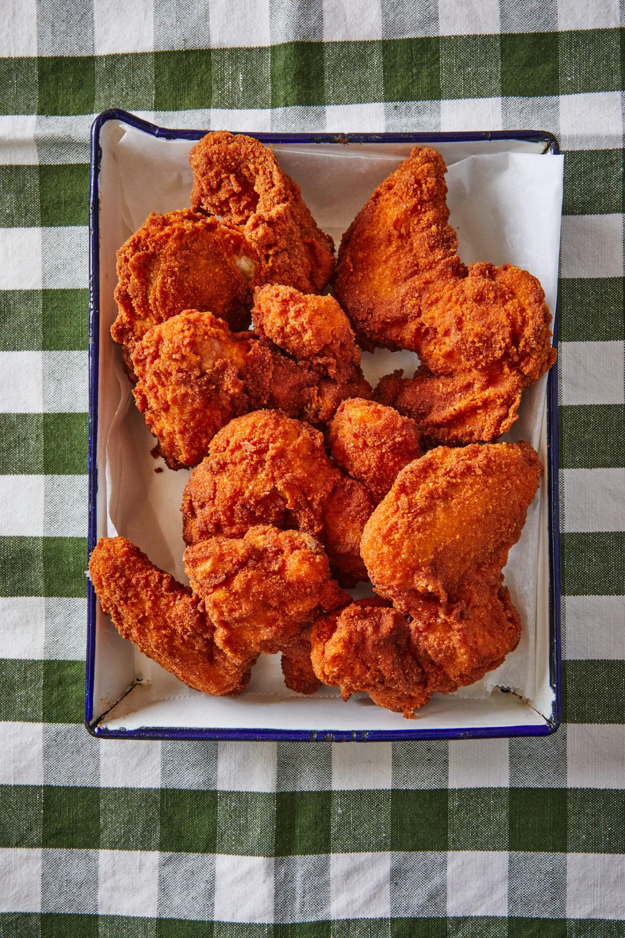 rántott csirkeszárny