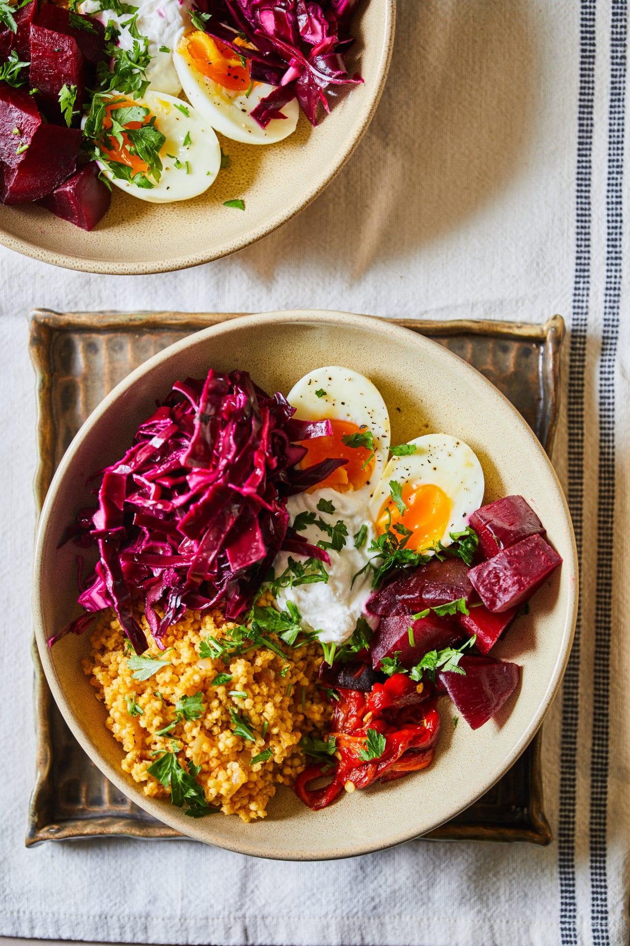 sült zöldséges superfood bowl