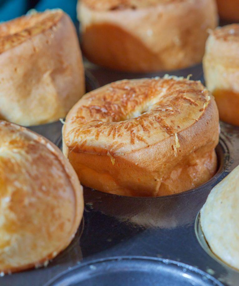 gluténmentes sajtos puffancs