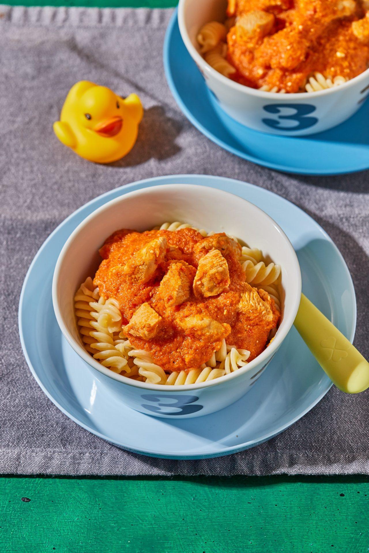 paprikás csirke a gyerekeknek