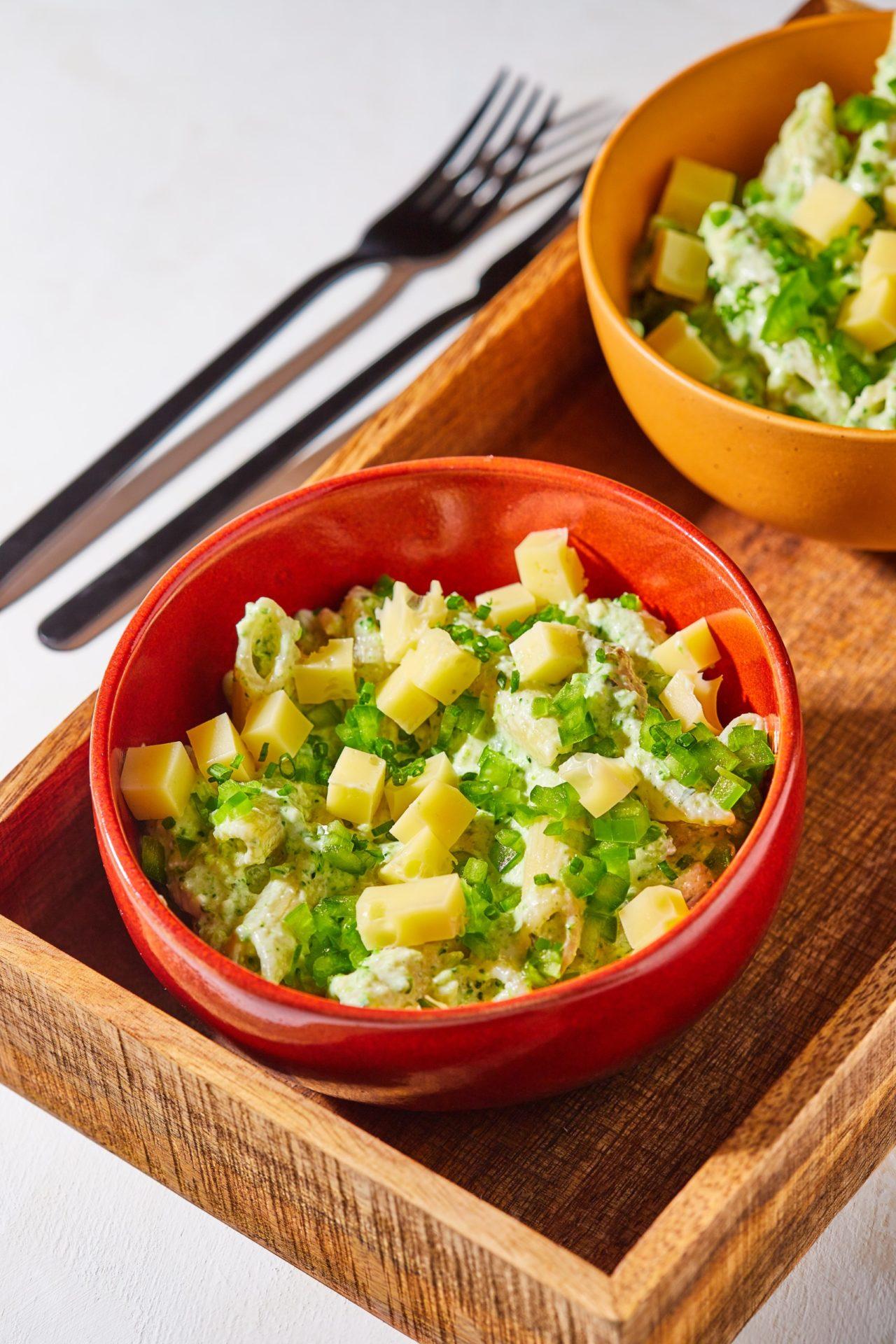 Sajtos-brokkolis tésztasaláta